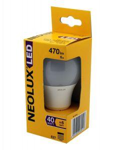 NEOLUX LED 6w E27 CLA6W/827