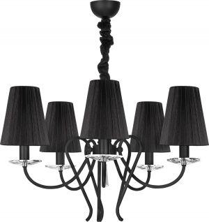 Lampy oświetlenie Nowodvorski - TROPEA black V zwis 5207