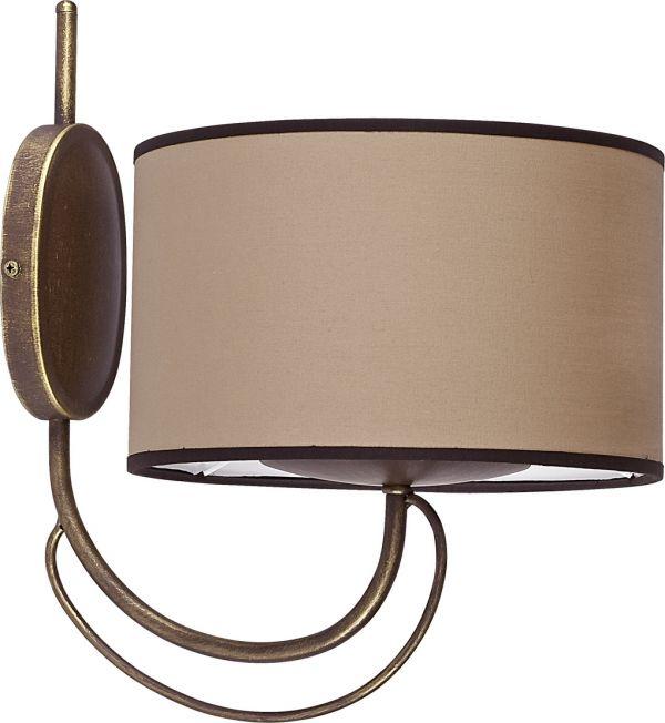 Lampy oświetlenie Nowodvorski - AMARA coffee I kinkiet 4134