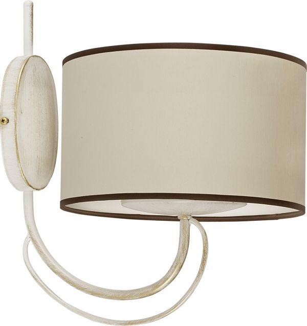 Lampy oświetlenie Nowodvorski - AMARA ecru I kinkiet 4164