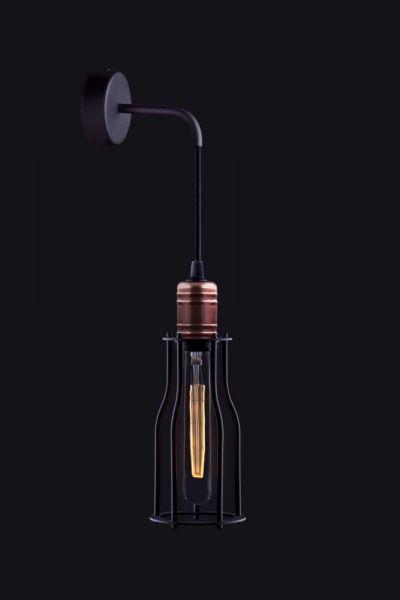 Lampy oświetlenie Nowodvorski - WORKSHOP kinkiet A 6605