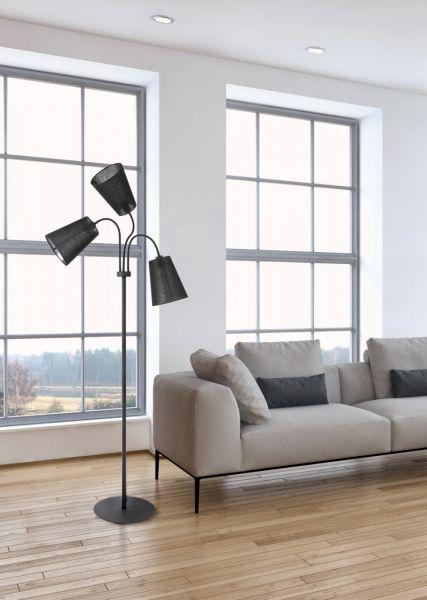 Lampy oświetlenie Nowodvorski - FLEX SHADE black podłogowa 9754