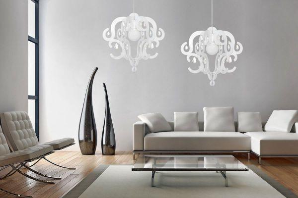 Lampy oświetlenie Nowodvorski - KATERINA white zwis 5208