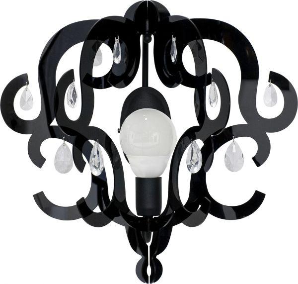 Lampy oświetlenie Nowodvorski - KATERINA black kinkiet 5218