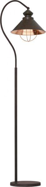 Lampy oświetlenie Nowodvorski - LOFT chocolate podłogowa 5061